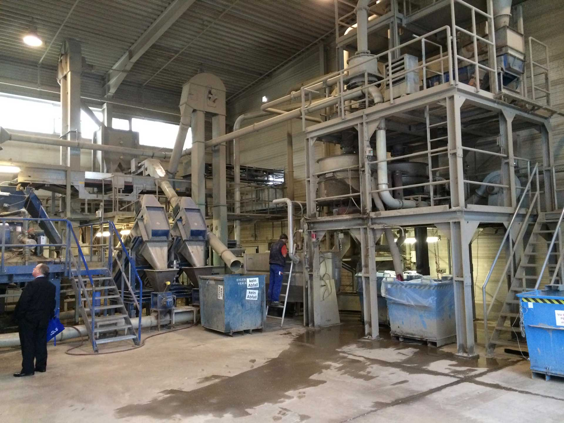 reprocessing plant