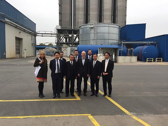 YKK AP zu Besuch bei VEKA Umwelttechnik